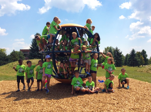 Chesterbrook Summer Camp Visits the Brokish Family Memorial